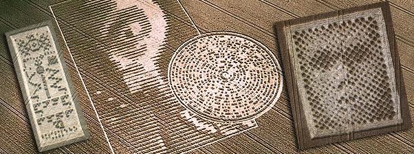 Risultati immagini per crop circle message